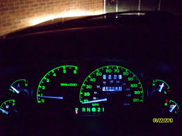 Led Cluster Lights Guage Cluster Before U0026 After Ranger Forums The Ultimate Ford
