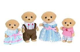 Sylvanian Families Garden Toys Sylvanian Families Yellow Labrador Family Epoch Ebay