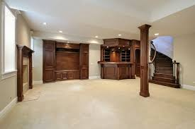 pillar designs for home interiors ultra spacious interior design from renovating a basement with