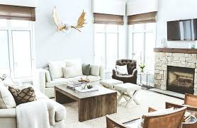 rustic living room furniture ideas with brown leather sofa rustic modern living room furniture view in gallery living room of