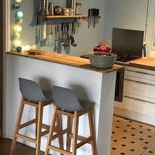 tabouret de cuisine belgique tabouret de bar kiko blanc style scandinave tabouret design