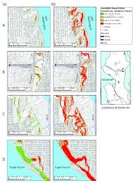 Map Of Greater Seattle Area by Triggered Landslides Pose Significant Hazard For Seattle New