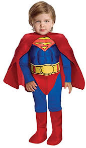 toddler costume dc heroes deluxe chest superman costume