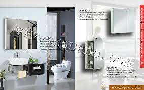 stylish illuminated bathroom mirror cabinet with led light buy