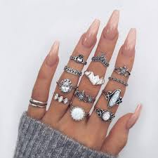 midi ring set the 25 best midi rings ideas on knuckle rings mid