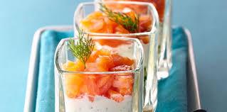 cuisine verrine verrines au fromage frais et au saumon facile et pas cher recette