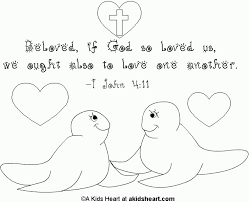 bible verse coloring page for valentine 277051 coloring pages