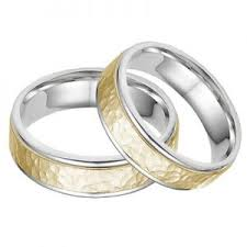 2 wedding bands women s two tone gold wedding bands page 1 of 2 wedding