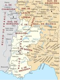 Uc Map File Map Of Kingdom Of Arles Es Svg Wikimedia Commons