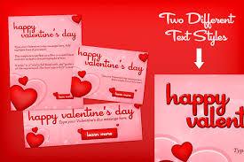 valentine u0027s day hearts template design panoply