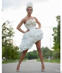 paper wedding dress would you wear this toilet paper wedding dress the frisky