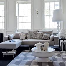 Clever Design Gray And White Living Room Impressive  Ideas About - Grey living room decor