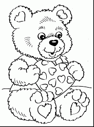 valentine printable coloring pages preschool coloring pages