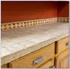 ceramic tile kitchen countertop over laminate tiles home