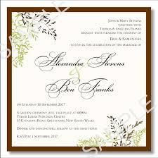 wedding invites templates budget wedding invitations template wedding autumn leaves