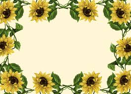 free halloween borders clip art sunflower border clip art sunflower clip art borders wallpapers