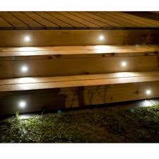 Recessed Deck Lighting Mini Round Recessed Led Light By Highpoint Deck Lighting Decksdirect