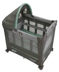 Graco Crib Mattress Size by Graco Travel Lite Portable Crib Winslet Walmart Com