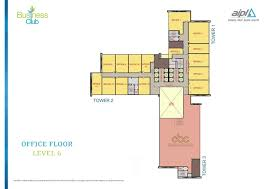 aipl business club sector 62 gurgaon floor plan details