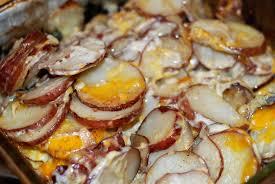 thanksgiving scalloped potatoes italian stuffed chicken u0026 scalloped potatoes the grateful spread