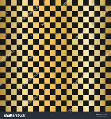 vector modern empty gold chess board stock vector 504704668