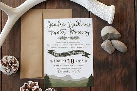 mountain wedding invitations boho mountain wedding invitation template wedding invitations