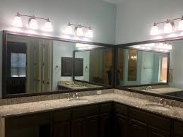 Installing Bathroom Mirror by Bathroom Mirror Installation