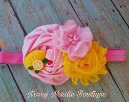 lemonhead headbands lemon headband etsy