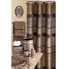 safari stripes animal print bath accessories bath accessories