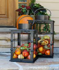 Outdoor Fall Decor Imparting Grace Easy Outdoor Decor For Fall
