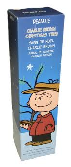 peanuts brown christmas tree productworks 18 inch peanuts brown christmas