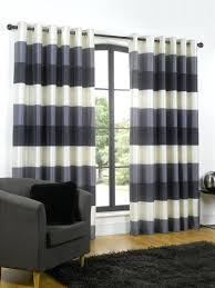 Brown And White Striped Curtains Black And White Striped Drapes Curtains Canada Ikea