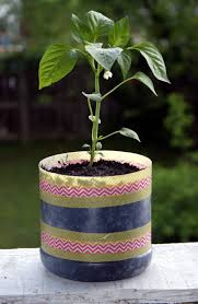 diy upcycled washi tape planter soap deli news