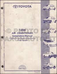 1996 toyota celica repair shop manual original