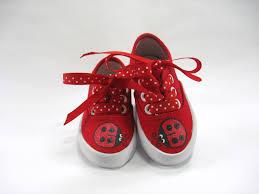 girls ladybug shoes ladybug theme birthday party hand