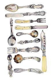 Kitchen Forks And Knives 386 Best Cutlery Illustrations Images On Pinterest Food
