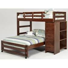 Bookcase Bunk  Loft Beds Youll Love Wayfair - Full and twin bunk bed