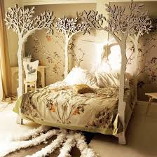 nature beds design with brown decoration ideas home interior
