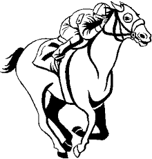 horse racing coloring pages u2013 az coloring pages coloring pages