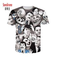 Internet Meme Shirts - sondirane new funny t shirt men women 3d internet meme print
