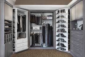 bedroom cabinet lazy susan and closet organization with gray and