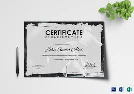 examples of certificates of completion certificate of completion 25 free word pdf psd documents