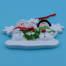 aliexpress buy wholesale resin snowman family of 3