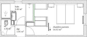 surface d une chambre plan suite parentale suite parentale plan suite