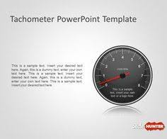 free powerpoint template thermometer chart a well designed