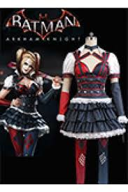 The Joker And Harley Quinn Halloween Costumes Batman Arkham Knight Harley Quinn Dress Cosplay Costume