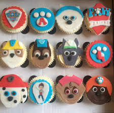 paw patrol cupcakes u2013 cakes lizzie edinburgh