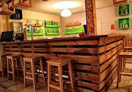 bar ideas pallet bar plans recycled wood pallet bar ideas pallet ideas