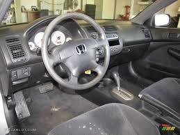 2001 honda civic ex interior black interior 2001 honda civic lx coupe photo 41056538