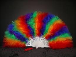 feather fans fans